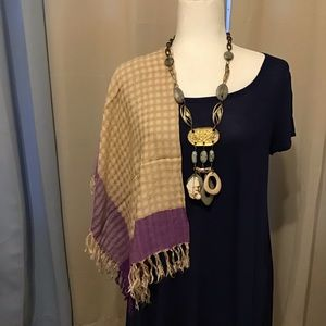 Indian wrap , scarf.